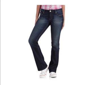 l.e.i. Ashley Lowrise slim boot cut jeans Size 11